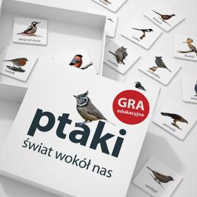 Ptaki gra edukacyjna, memo